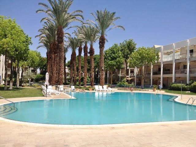 3 room duplex apt -Royal Park Eilat