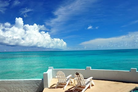 VERY PRIVATE, LUXURY OCEAN VILLA with PRIVATE POOL - Nassau