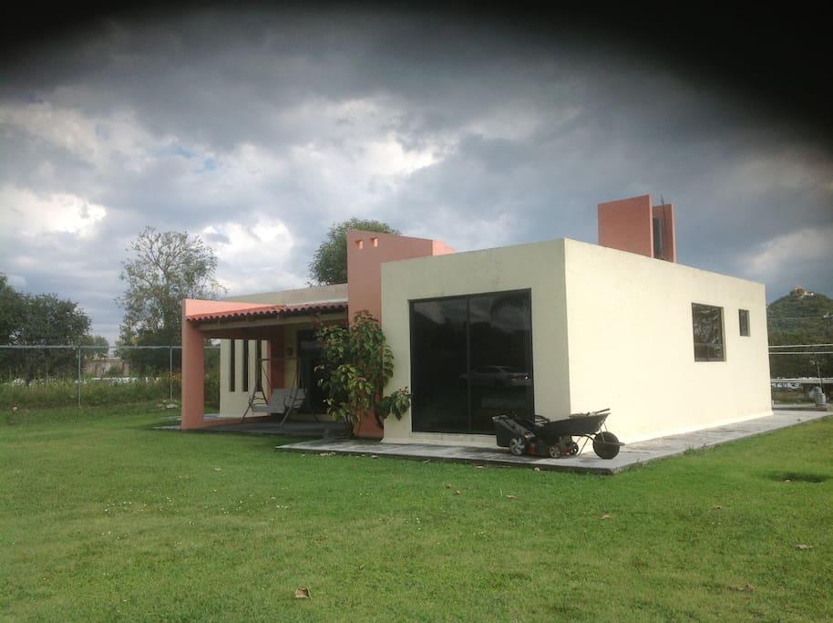 Casa de campo atlixco de las flores pueblo m gico houses for Viveros de plantas en atlixco