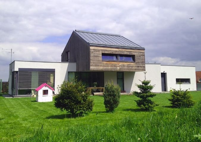 Modern house near Prague - Kamenice - Casa
