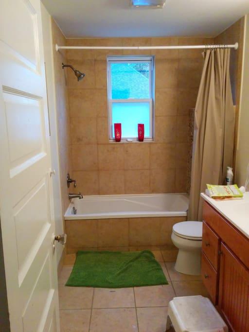 Bathroom you can wash in!