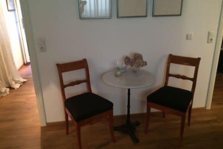 Souterrain-Wohnung in Oberbayern - Huis