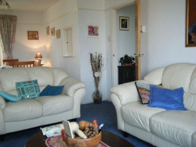 Single room in  Cornwall, with garden view. - Saltash - Bed & Breakfast