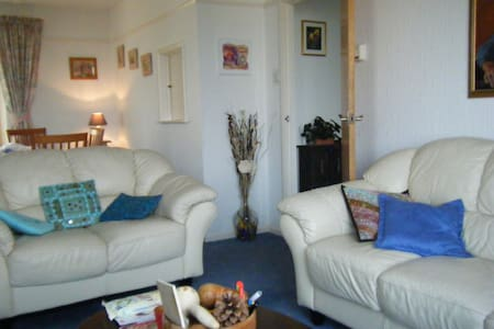 Single room in  Cornwall, with garden view. - Bed & Breakfast