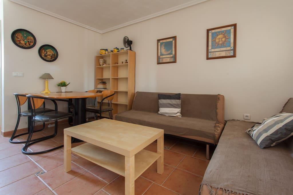 Salon de estar del apartamento