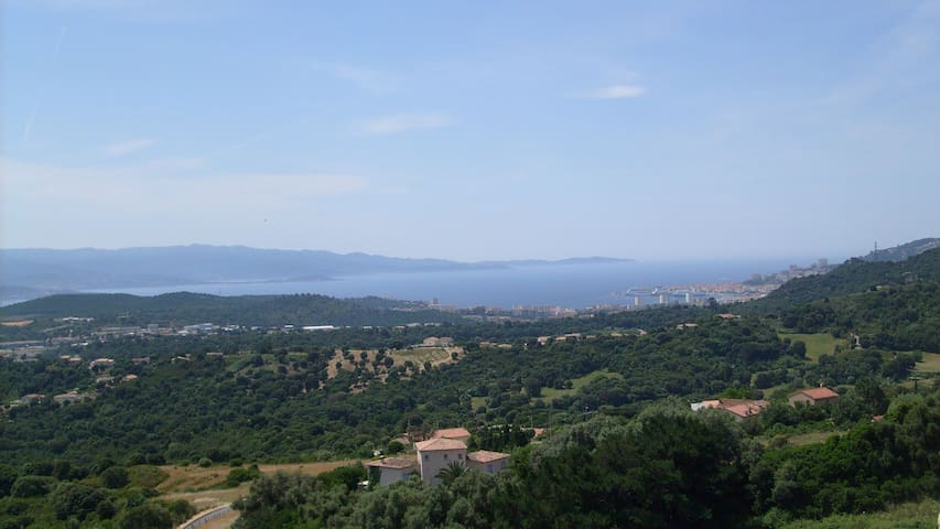 Magnifique F3 Vue mer panoramique - Alata - Apartment