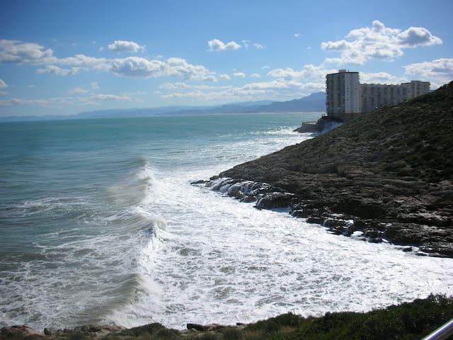 FIRST LINE BEACH-PLAYA, ROCA Y FARO - Faro de Cullera - Apartamento