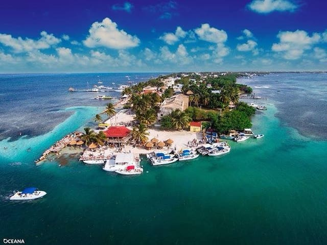 The Stoned Crab Hideaway House - Caye CAulker - Haus