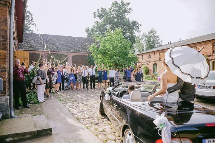 Hochzeit in der Landscheune