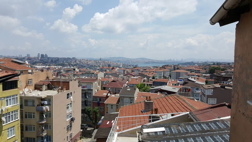 Superb terrace overlooking the Cent - Istanbul - Pis