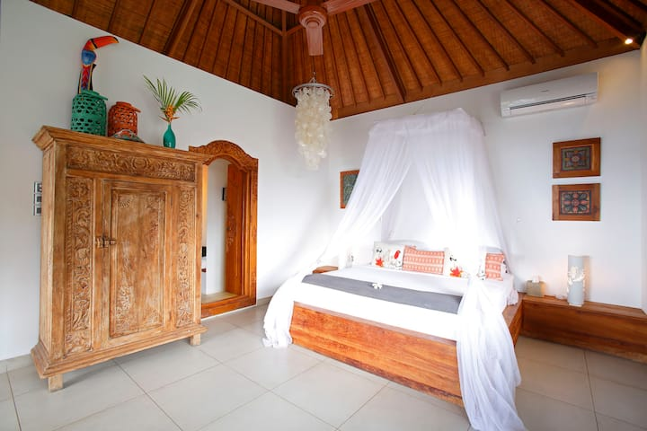 PERFECT LOCATION VILLA RAMA LEMBONGAN ISLAND 1 bed