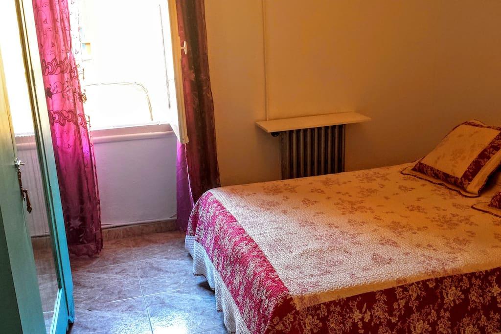 habitacion 1 con cama doble