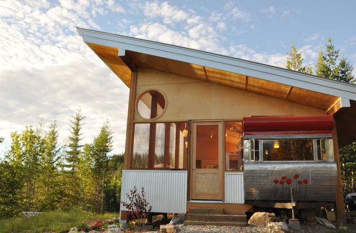 Tin Poppy - A retro/modern retreat near Salmon Arm - Salmon Arm - Andre