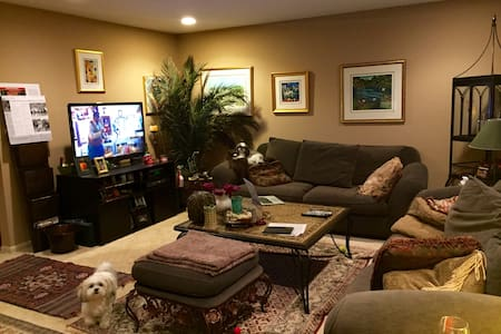 Comfy room/home close to Chicago - 高地公園(Highland Park)