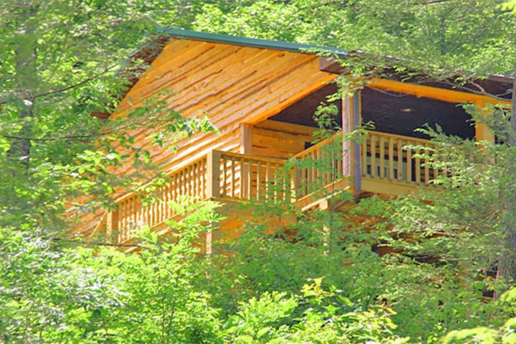 Appalachian mountain vacation cabin cottages for rent in for Appalachian mountain cabins