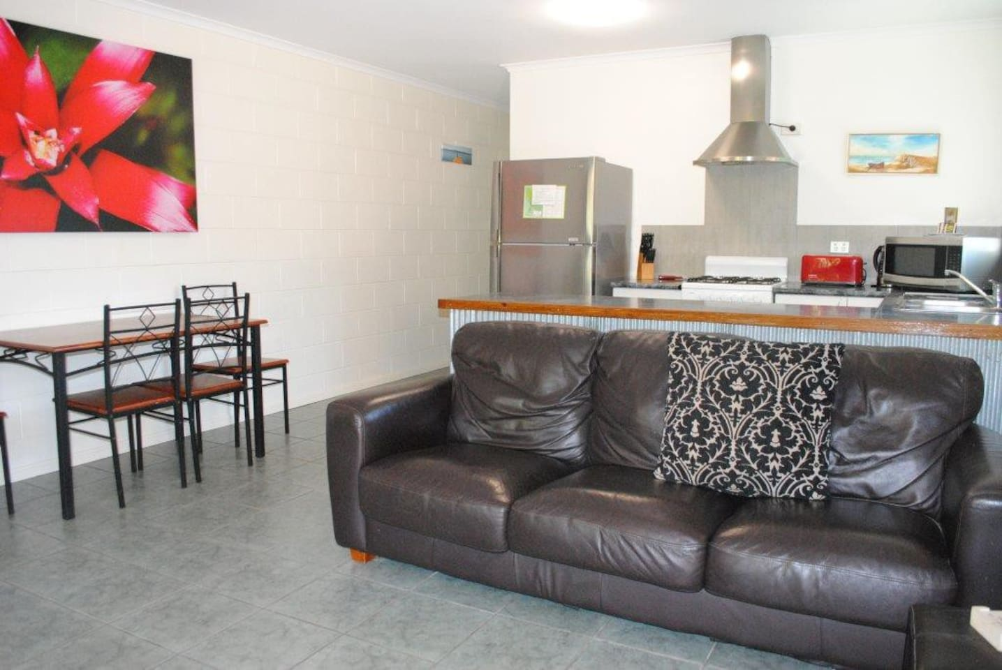 Open plan living area. 56B