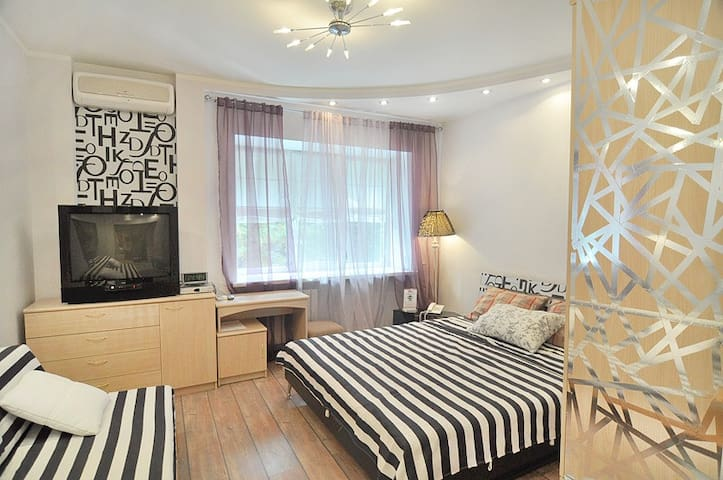 Well decorated studio Arbat area126 - Moscow - Apartment
