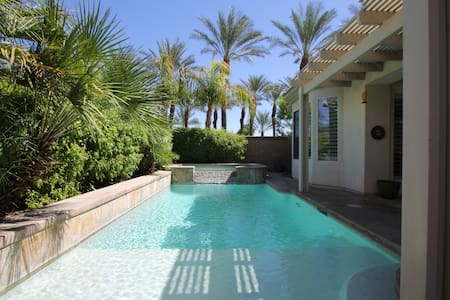 Stucco home with private pool/spa