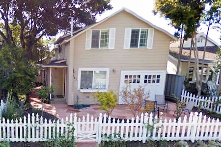 Just minutes from Capitola's pristine beach, quaint downtown shops and delectable eateries, this newly remodeled and immaculately-maintained house features open floor plan, fully stocked/equipped kitchen, native floral garden/patio.  Accom. 8 people.