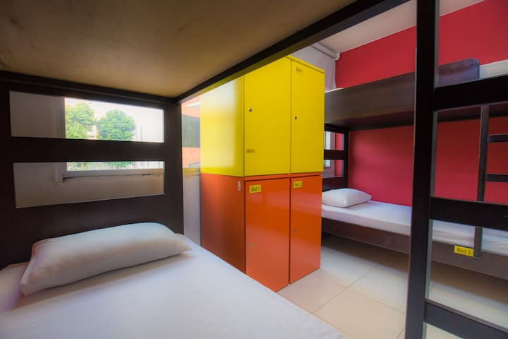 Female 4 Bed Dormitory