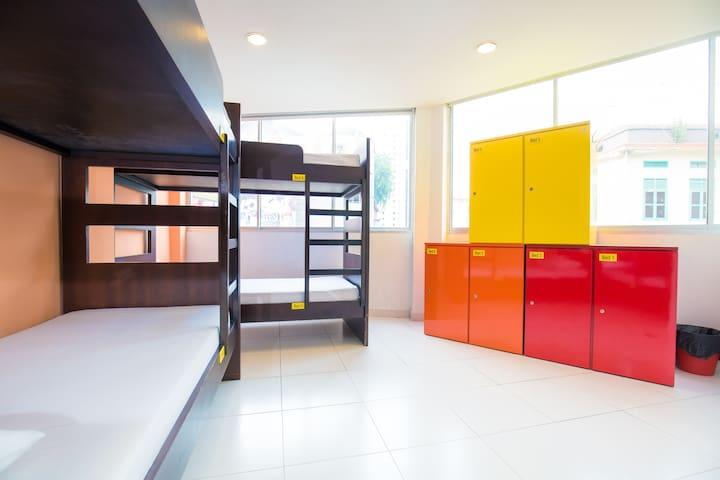 Premium Backpacker 6 Bed Mixed Dorm