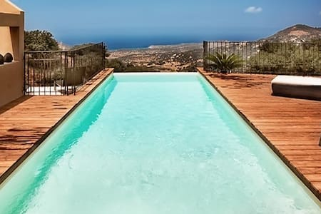 Beautiful Corsican villa with pool - Cateri