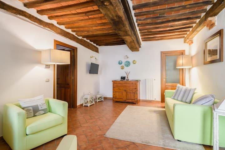 Casa Vacanze Vicolo delle rose - Castelnuovo Berardenga - Rumah