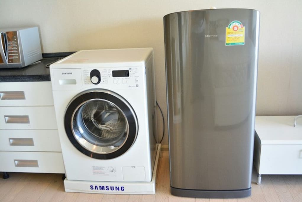 Washing machine and frige