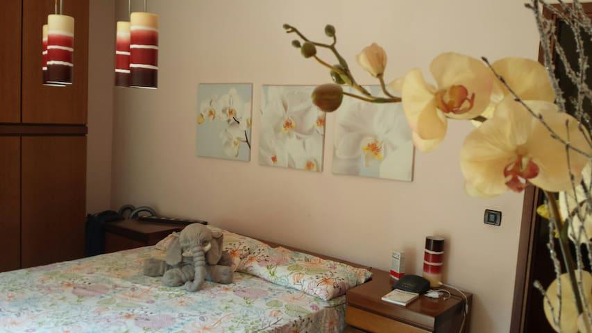 Camera matrimoniale con balconcino - Cavriago - Lägenhet