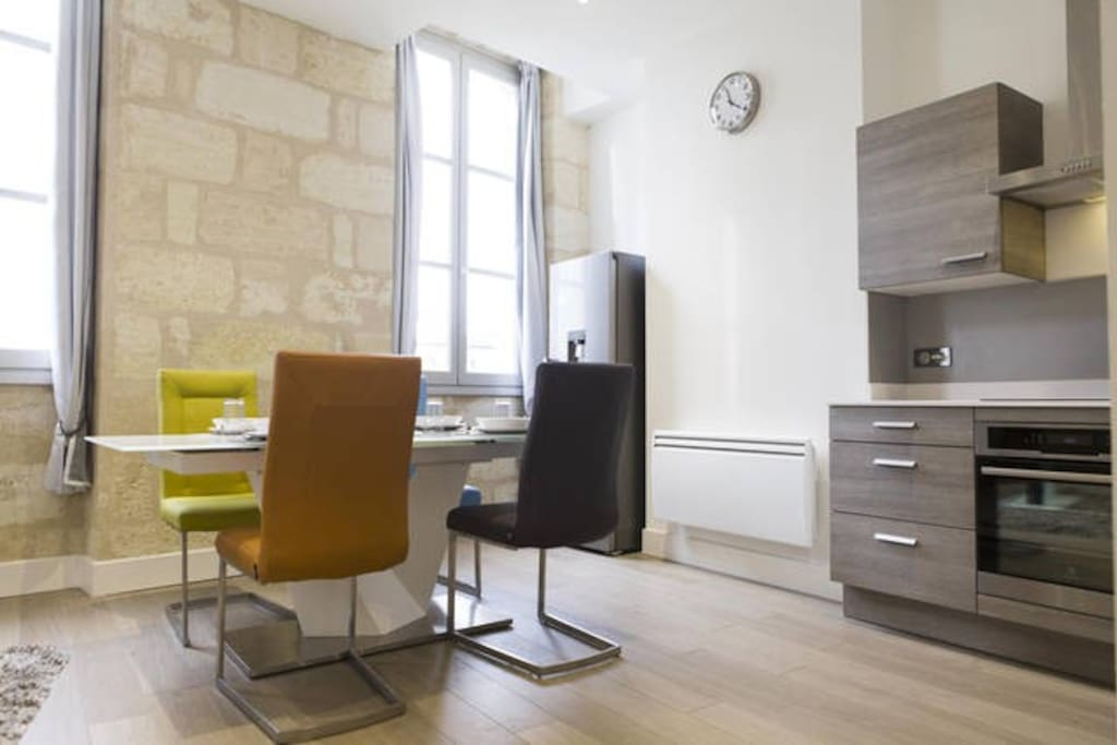 Wonderful t3 with private room apartments for rent in for T3 bordeaux