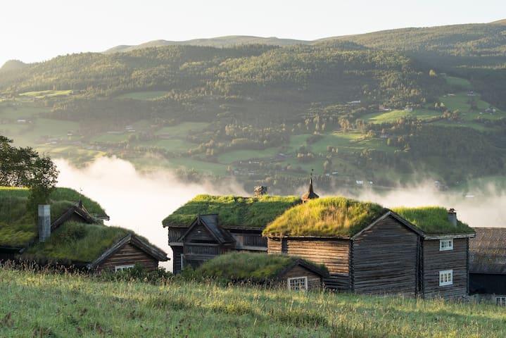 Fairytale Farm-hotel in Jotunheimen