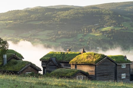 Fairytale Farm-hotel in Jotunheimen