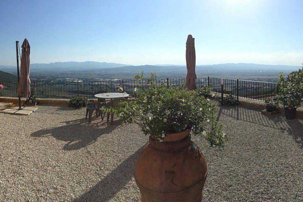 Terrazza comune panoramica