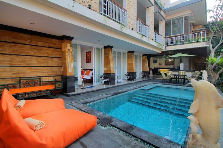 Room with pool, breakfasts/Seminyak