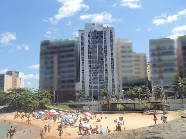 Apartment 4 bdr. Guarapari, Facing the Sea, Garage