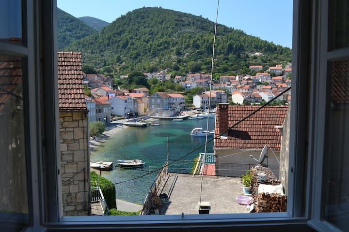 Račišće Bay on Korčula Island App - Račišće - Apartamento