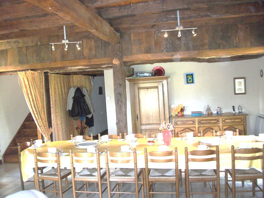 salon/ salle à manger
