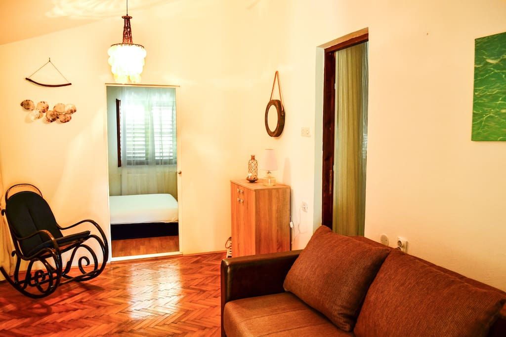Two-room apartment for up to 4 persons.