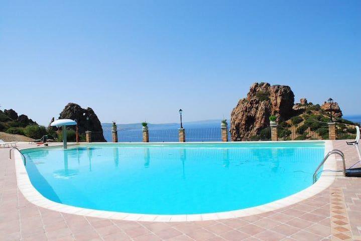 L'Emozione Tanca Piras-Vista Mare  piscina -Wi-Fi