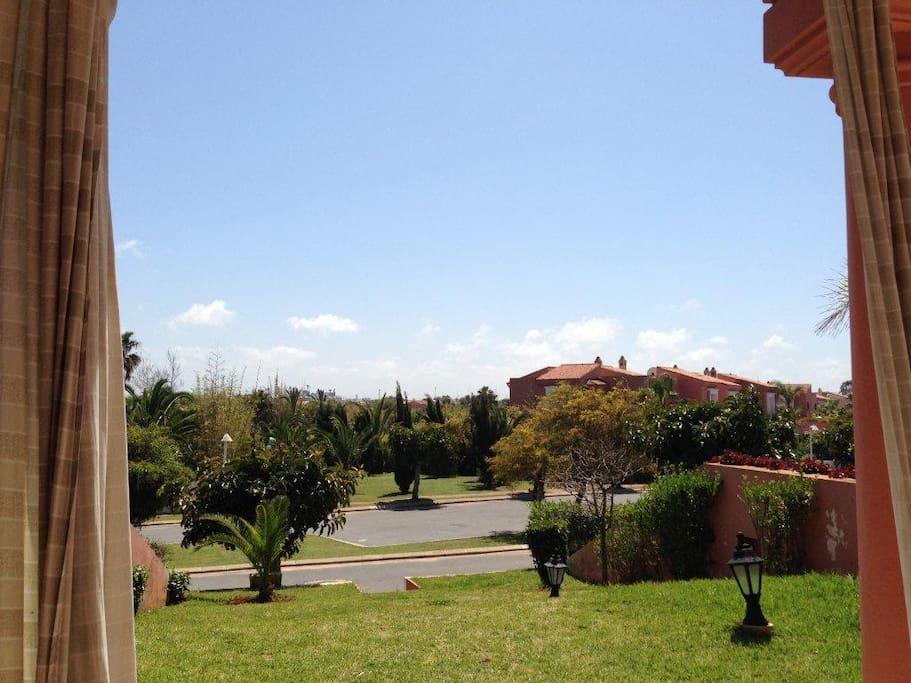 Jardin, golf
