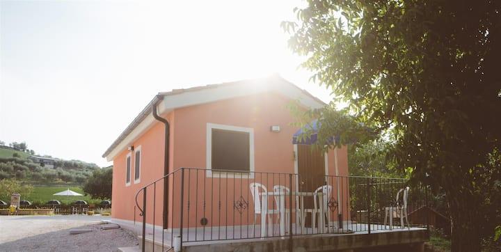 VILLA SABRINA a San Ginesio- Apartment IRIS 4 beds