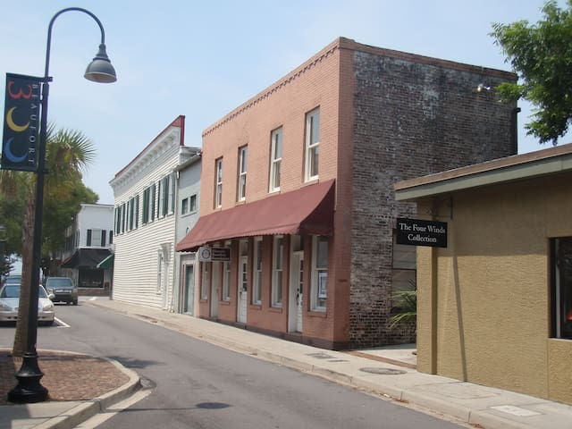 Downtown Beaufort Apartment - Beaufort - Loft