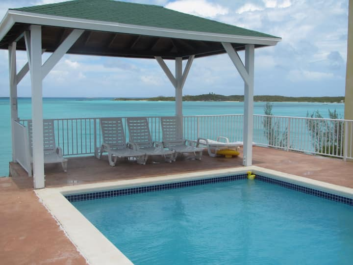 Beach front condo #5 -UPGRADED- George Town, Exuma