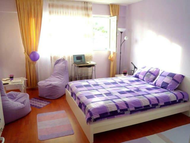 Lila&Osmanli tarzi.Deniz manzarali - İzmir Bornova Ege bolgesi - Apartament