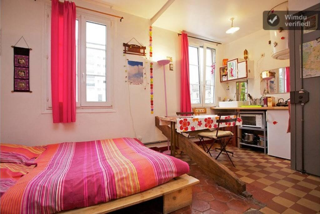 Petit Appartement Avec Un Grand Lit Appartements Louer
