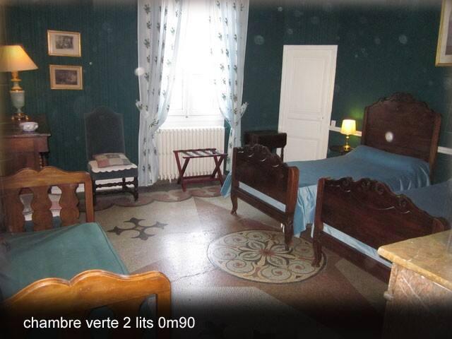 château massal chambre verte 24m2 - Bez(et-Esparon) - Hrad