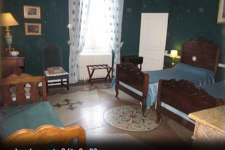 château massal chambre verte 24m2 - Bez(et-Esparon)