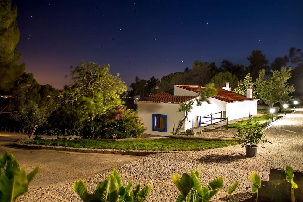 Quinta da Idalina de noite