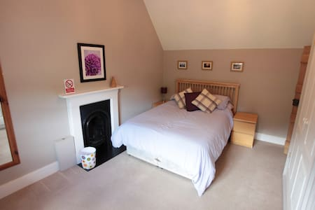 A bedroom in a self contained annex - Monmouthshire