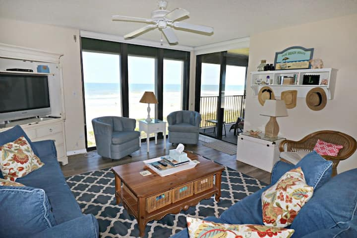 Sand Dollar 2-302-Direct Oceanfront, Spacious 3 Bedroom Condo with Gorgeous Ocean Views!